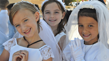 2021 First Holy Communion at Our Lady of Sorrows, Phoenix, AZ